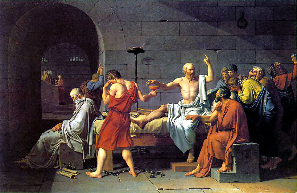 Jacques Louise David - The Death of Socrates